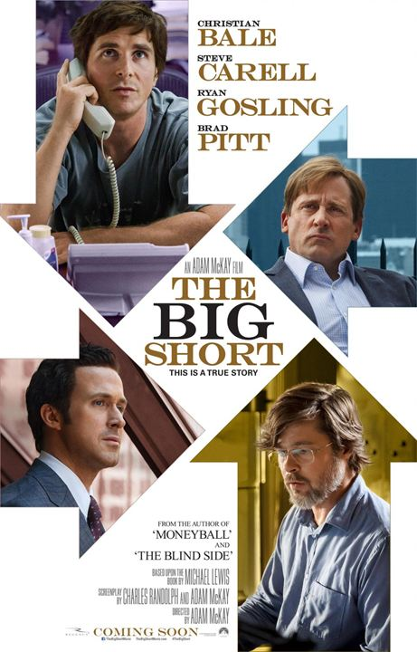 Affiche du film The Big Short