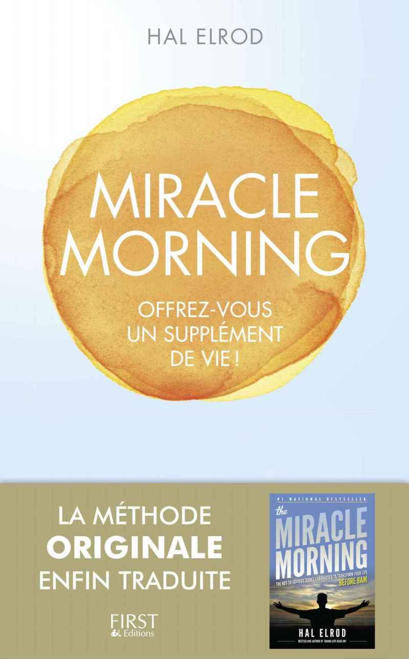 Couverture de Miracle Morning, livre de Hal Elrod