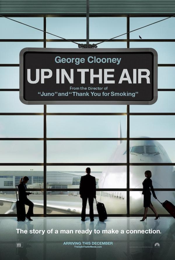 Livre pour développer son entreprise, affiche du film In the Air