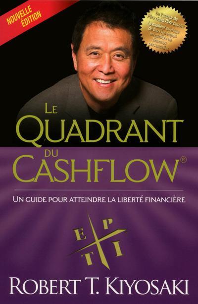 Livres pour développer son entreprise le quadrant du cashflow de Robert Kiyosaki