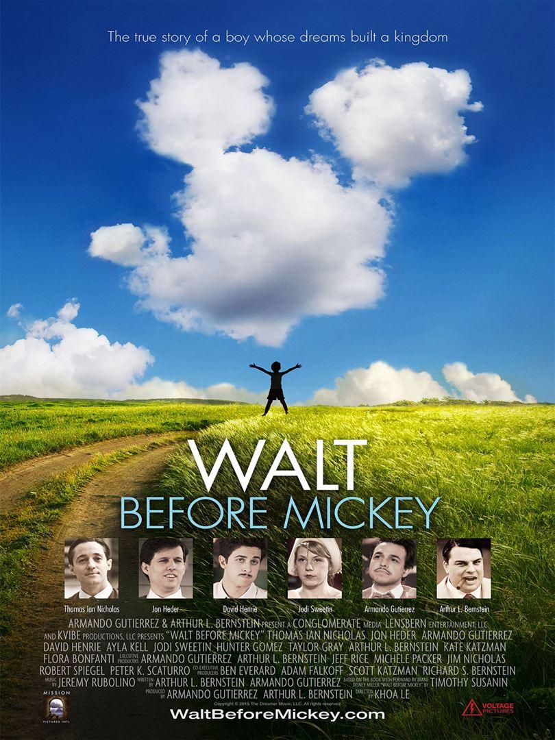 Affiche du film Walt avant Mickey
