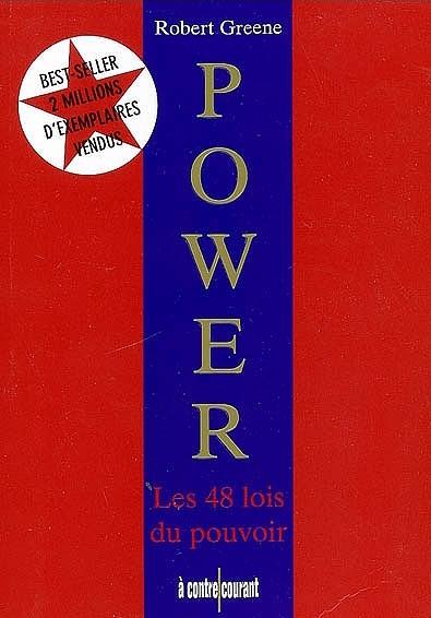 Couverture livre Power, les 48 lois du pouvoir