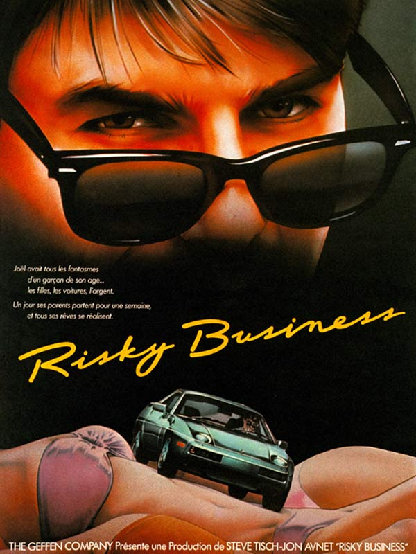 Affiche film Risky Business