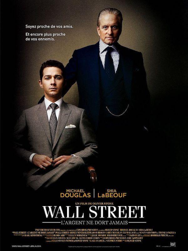 Affiche film Wall Street L'Argent ne dort jamais