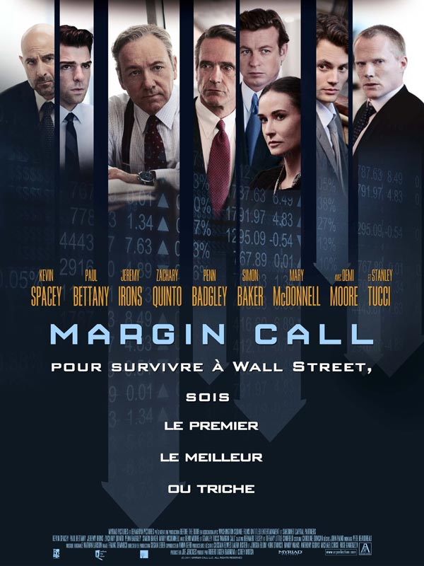 Affiche film Margin Call