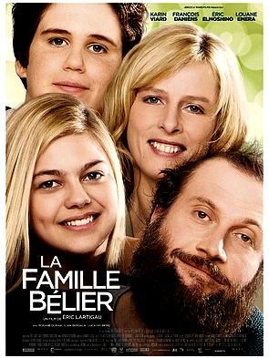 affiche du film La famille Bélier de 2014