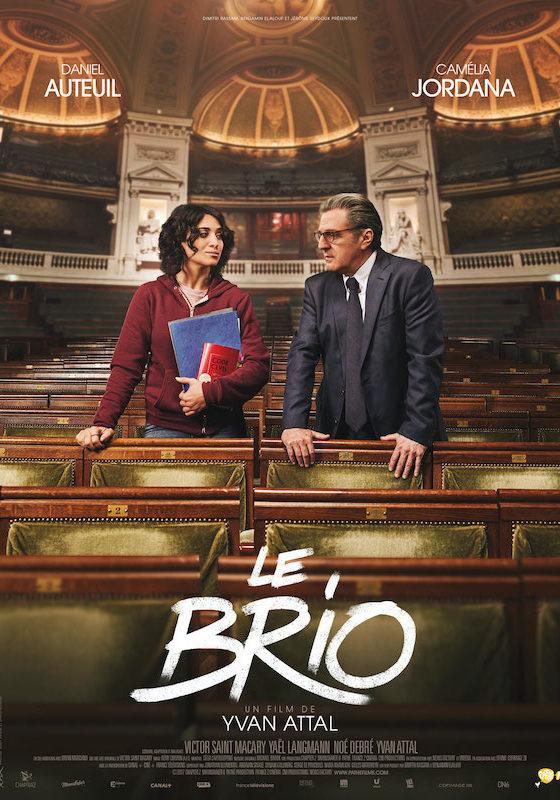 Affiche film Le Brio de Yvan Atal